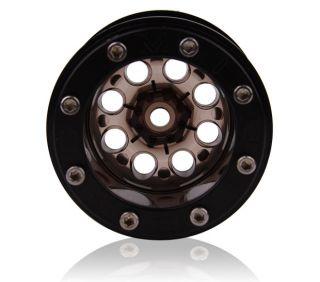 Mud Beadlock Wheels AX10 Wheely King CR 01 Hilux Smoke 4