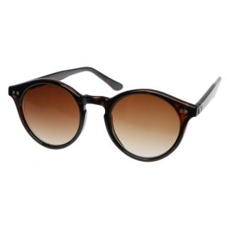 Vintage Inspired Small Round Circle Key Hole Retro P3 Sunglasses with