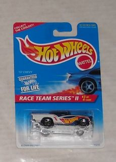 Hot Wheels 1995 Mattel Race Team Series II 3 of 4 Cars 57 Chevy