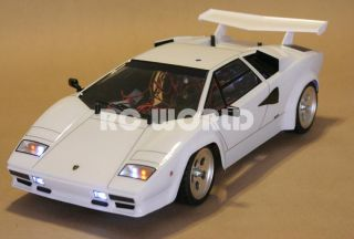 Tamiya 1 10 RC Lamborghini Countach Race Car RTR 2 4GHz RTR New