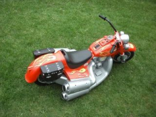 Davidson Cruiser 12 Volt Power Wheels Motorcycle PICK UP ONLY Illinois