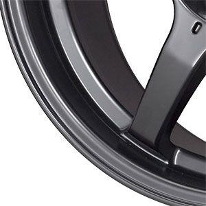 New 17X7.5 4 100 Konig Backbone Matt Black Wheels/Rims