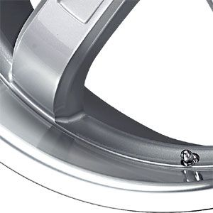 New 18X9.5 5 120 5 Silver Machined Wheel/Rim