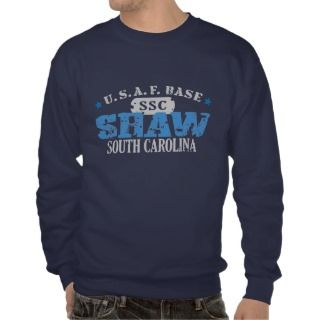 Air Force Base   Shaw, South Carolina Pull Over Sweatshirt
