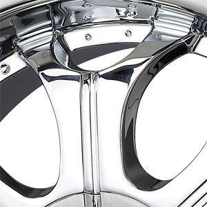 New 22x9 5 5x115 5x127 V Tec Chrome Wheels Rims