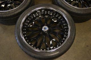 22 asanti Wheels Rims Ford Truck SUV 5x135 Expedition F150 Lincoln