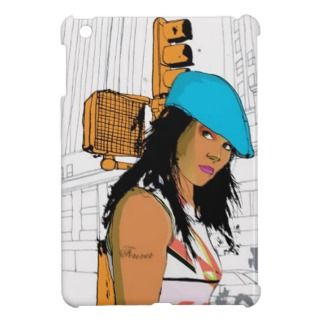 Walking Downtown   iPad Mini Case