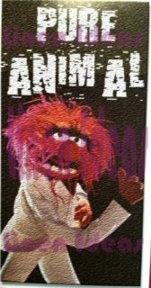 Muppets Pure Animal Velour Towel Beach Bath Pool New