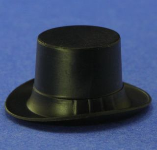 Miniature Top Hats 6 Pcs 5 8 Tall German