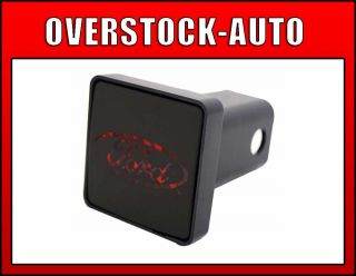 Bully CR007F Hitch Receiver Cover Brake Light Ford Logo