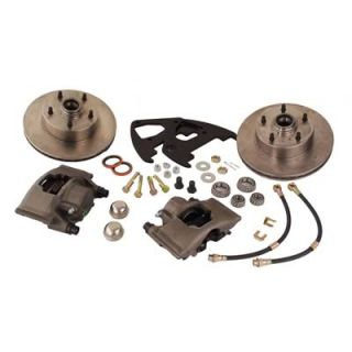 Stainless Steel Brakes A123 23 Disc Brakes, Front, Solid Vented Rotors