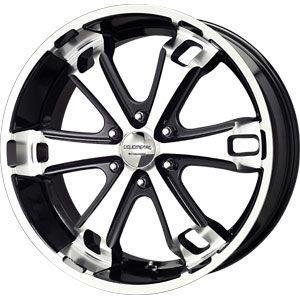 New 20x9 6x135 Liquid Metal Dyno Black Wheels Rims