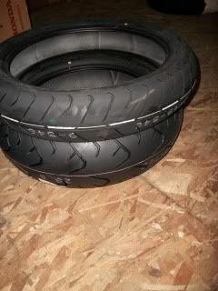 Bridgestone Touring Tires Honda GL1800 Gold Wing New