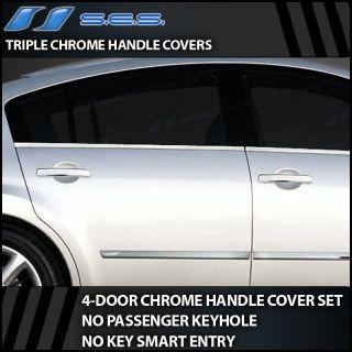 2004 2007 Nissan Maxima No Passenger Keyhole Chrome Door Handle Covers