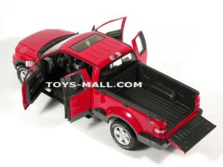 Large Red Ford F150 FX4 Truck Showroom Model Free SHIP