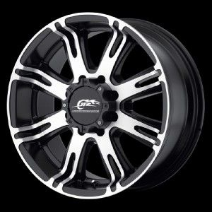 708 Ribelle Black Wheels Rims 5x5 5 5x139 7 20 Dodge RAM 1500