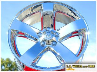 New 18 Dodge Challenger Chrome Wheels Rims Charger Magnum 2359
