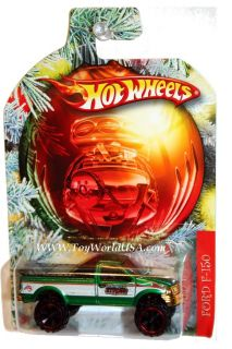 2010 HW Wal Mart Holiday Hot Rods Ford F 150