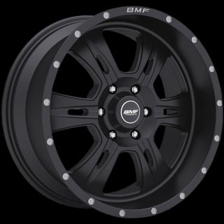 Black BMF Rehab Wheels 6x135 0 Lifted Ford Expedition F 150
