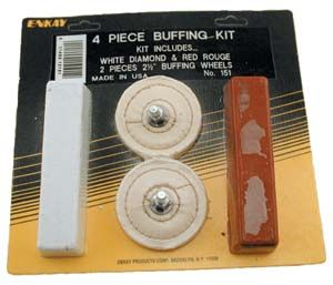 PC Cotton Buffing and Metal Polishing Wheel Kit