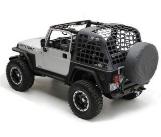 Smittybilt 581035 07 12 Jeep Wrangler 4 Door Cargo Restraint System