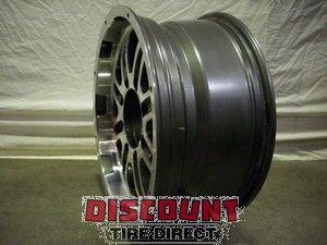Used 17x8 8x165.1 8 165.1 Mb Gunner 8 Anhracie Machined Wheels/Rims