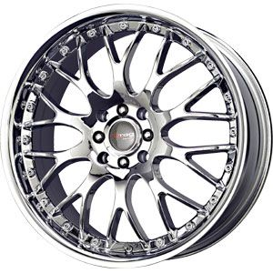 New 17x7 5 5x100 5x114 3 Drag Dr 19 Chrome Wheel Rim