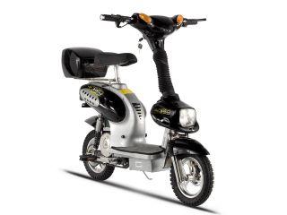 Treme Scooters XB 562 Black Electric Bike Moped Hybrid