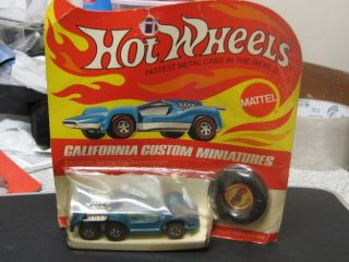 1970 Hot Wheels Redline California Six Shooter in Box