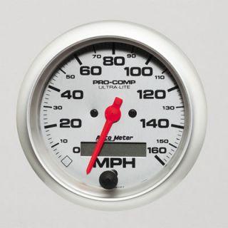 Lite Series Speedometer 0 160 MPH 3 3 8 Dia Electrical 4488