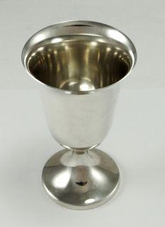 Vintage Preisner Sterling Silver Goblet #23 Set of 2 Footed 4 1/8