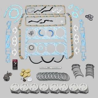 Fed Mogul Premium Engine Rebuild Kit SBC 400 030 Bore Stock Rods 020