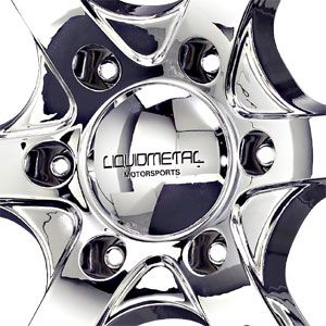 New 20X8.5 6 139.7 Magma Chrome Wheels/Rims