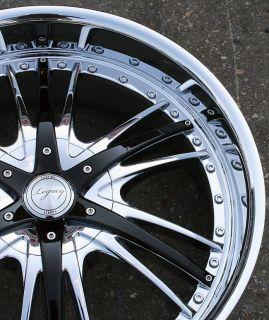 RVM LG5 20 Chrome Rims Wheels Yukon Tahoe Sierra 5x127
