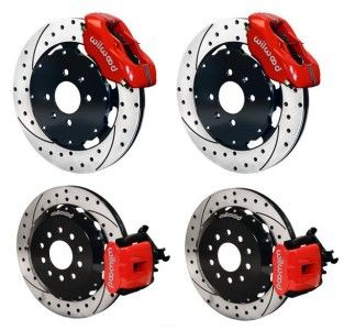 Front Rear Disc Brake Kit Wilwood 140 6163 Dr