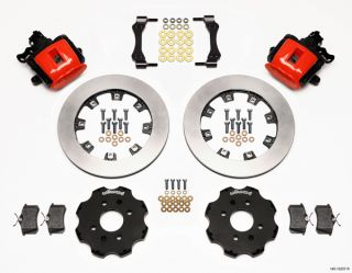Wilwood Disc Brake Kit Acura Integra El Red Calipers