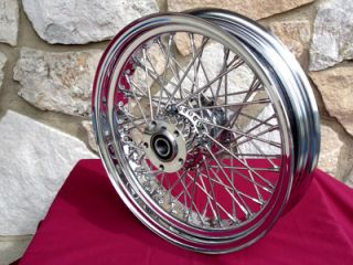 18 60 Spoke Front Wheel Parts for Harley Street Road Glide Road King