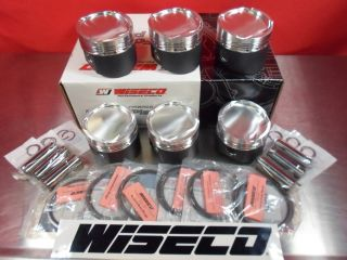 Wiseco Europe Forged Pistons Volkswagen VW Golf R32 VR6 3 2L 24V Turbo