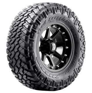 17 Black Rims Tires 8x165 Hummer Chevy Dodge Nitto Trail Mud 285 70