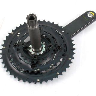 SRAM Truvativ Mountain Bike Triple 10 Speed Carbon Crankset 170mm 44