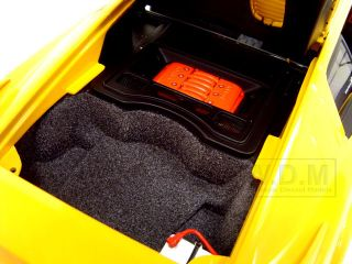 Lotus Esprit V8 Yellow Diecast Car Model 1 18 by Autoart 75313
