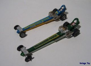 Corgi Whizzwheels Radio Luxembourg Dragster Quarter Master Race Car