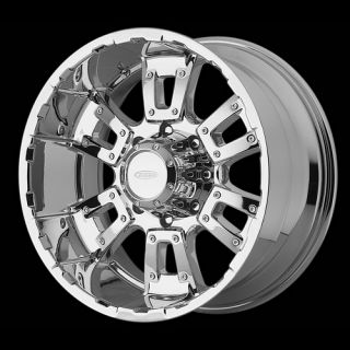 18x10 inch Chrome Rims 8x170 8 Lug F250 F350 Wheel