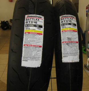 BT016 Motorcycle Tires Sz Front 120 70 R17 Rear 180 55 R 17
