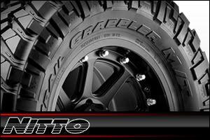 17 Black Rims Tires 8x165 Hummer Chevy Dodge Nitto Trail Mud 285 70