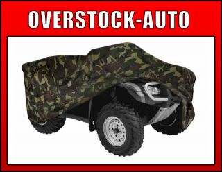 "Pilot Automotive CC 6221 Camouflage Small ATV Cover 77"" x 48"" x 31"