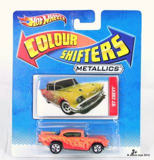 Hot Wheels Colour Shifters Cars 10 to Collect Diecast Toys Mattel New