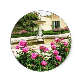 Divine Rose Garden Picture Sticker