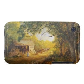 19th Century American Painting of a Rural Scene wi Case Mate iPhone 3