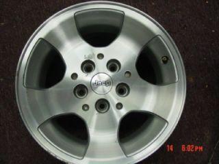 15 Jeep Wrangler TJ Wheels Rim Rims Wheel Aluminium